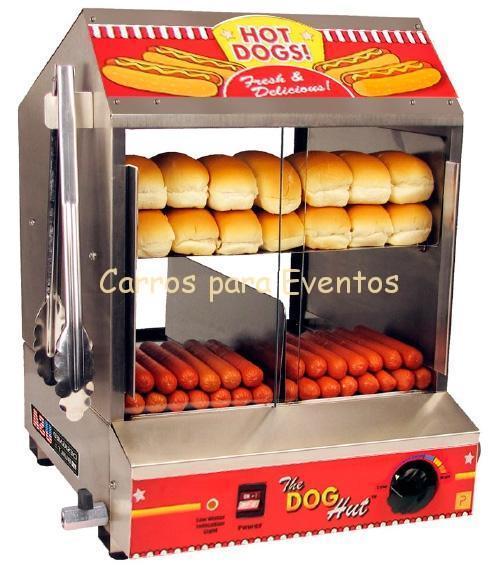 maquina de perritos calientes grande