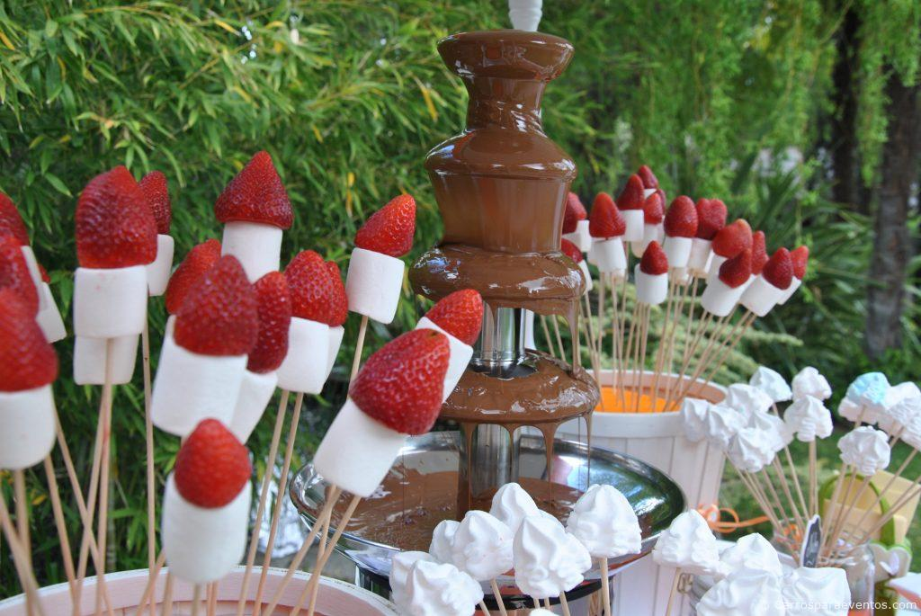 Alquiler De Carrito De Chocolate Fuente De Chocolate