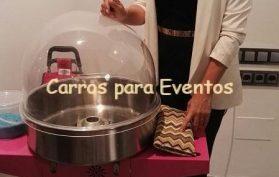 Isasaweis Carros de algodón de azúcar para presentación de nueva colonia Bebes & Mamas
