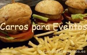 Carrito de Minihamburguesas